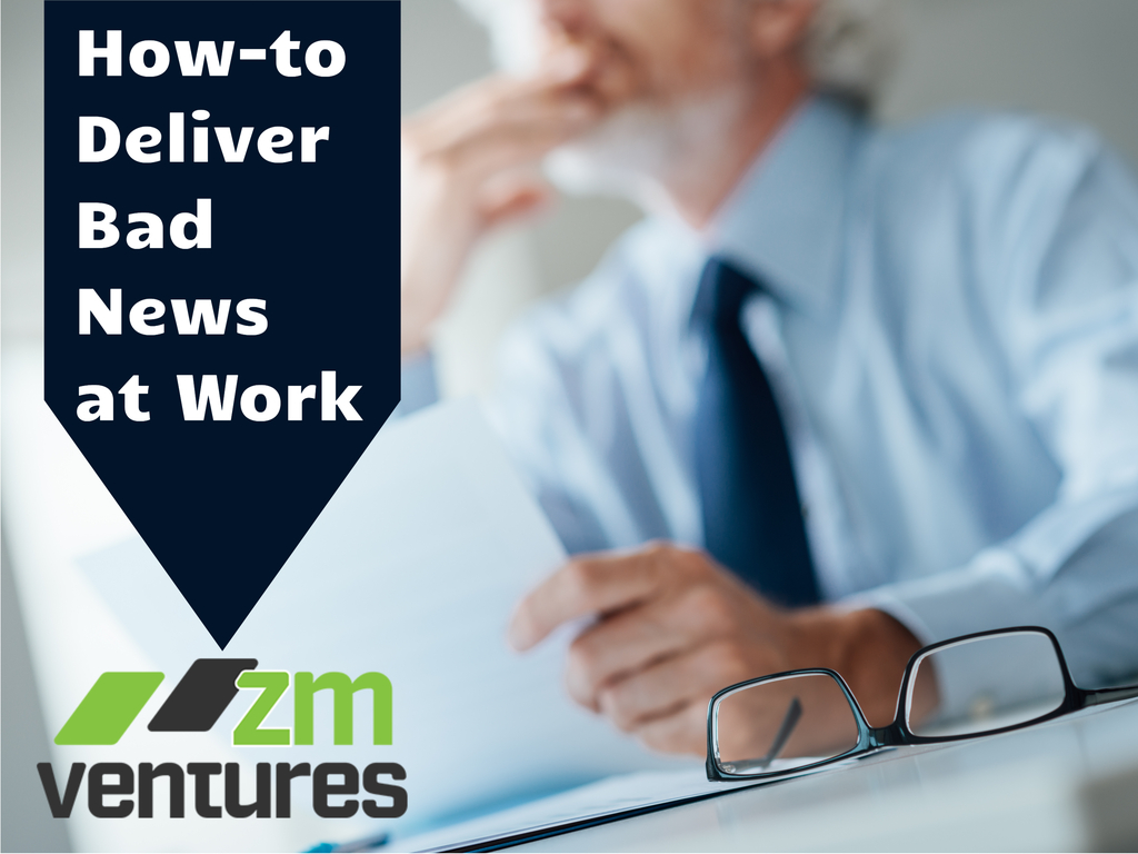 How-to Deliver Bad News to Employees, Co-Workers and Bosses